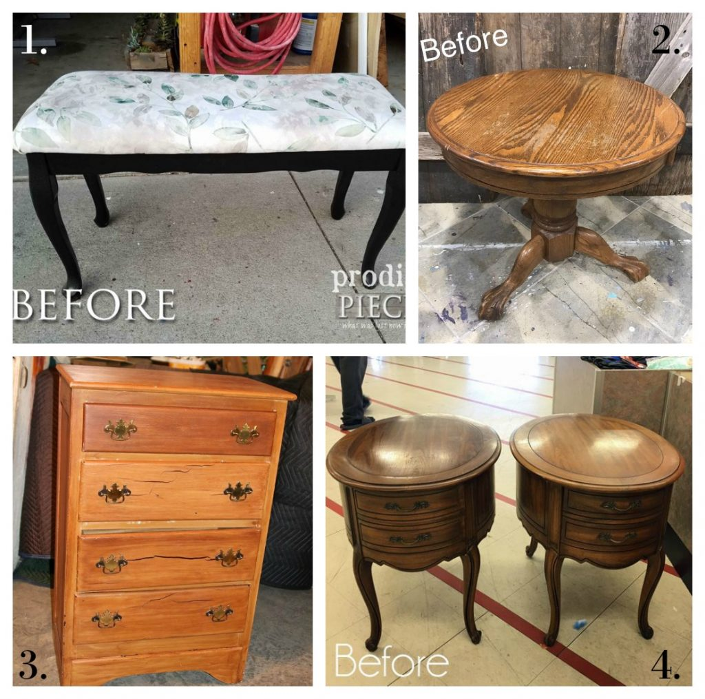 Furniture Fixer Uppers - November 2017