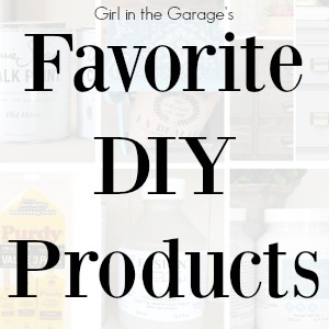 Favorite DIY Products for Furniture Makeovers