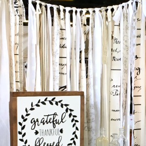 How to Make a Stunning DIY Fabric Garland Backdrop