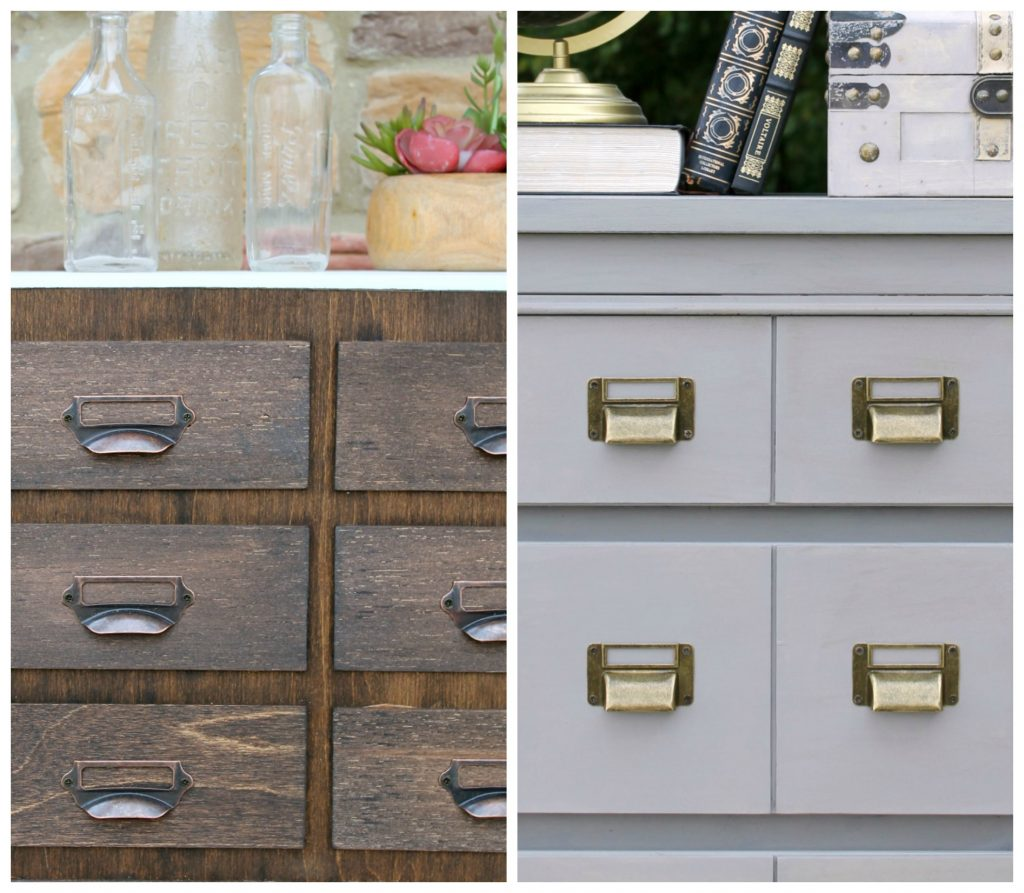 Favorite DIY Products - Card Catalog Drawer Pulls