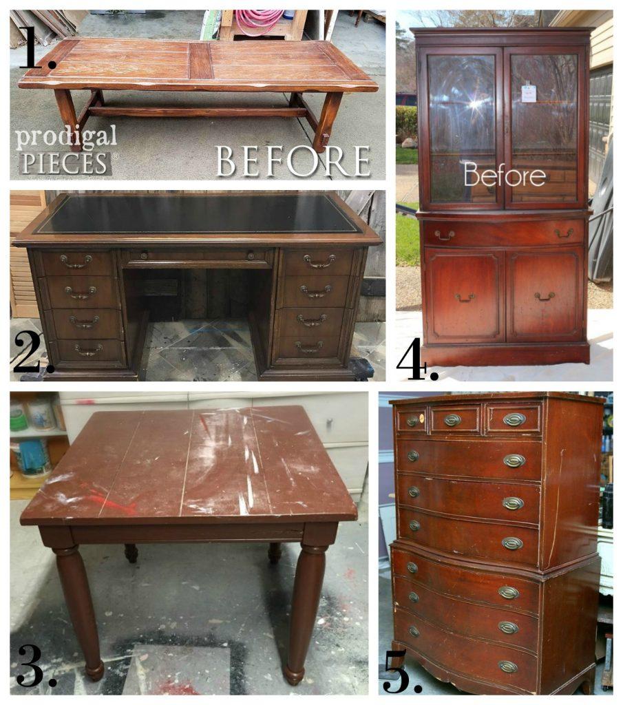 Furniture Fixer Uppers - December 2017