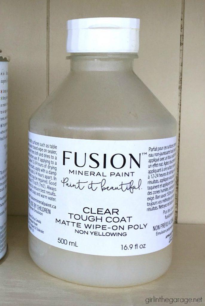 Favorite DIY Products - Fusion Tough Coat
