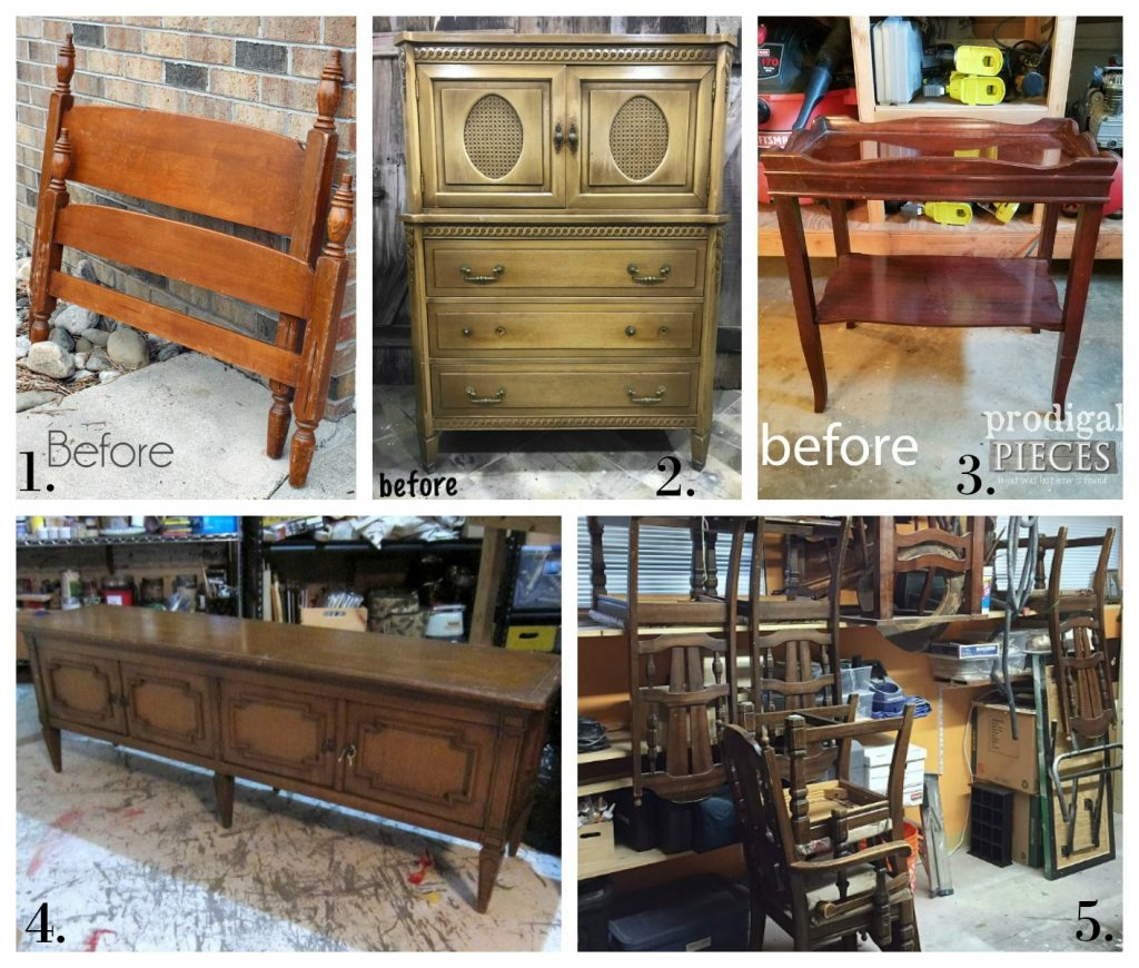 Furniture Fixer Uppers - January 2018