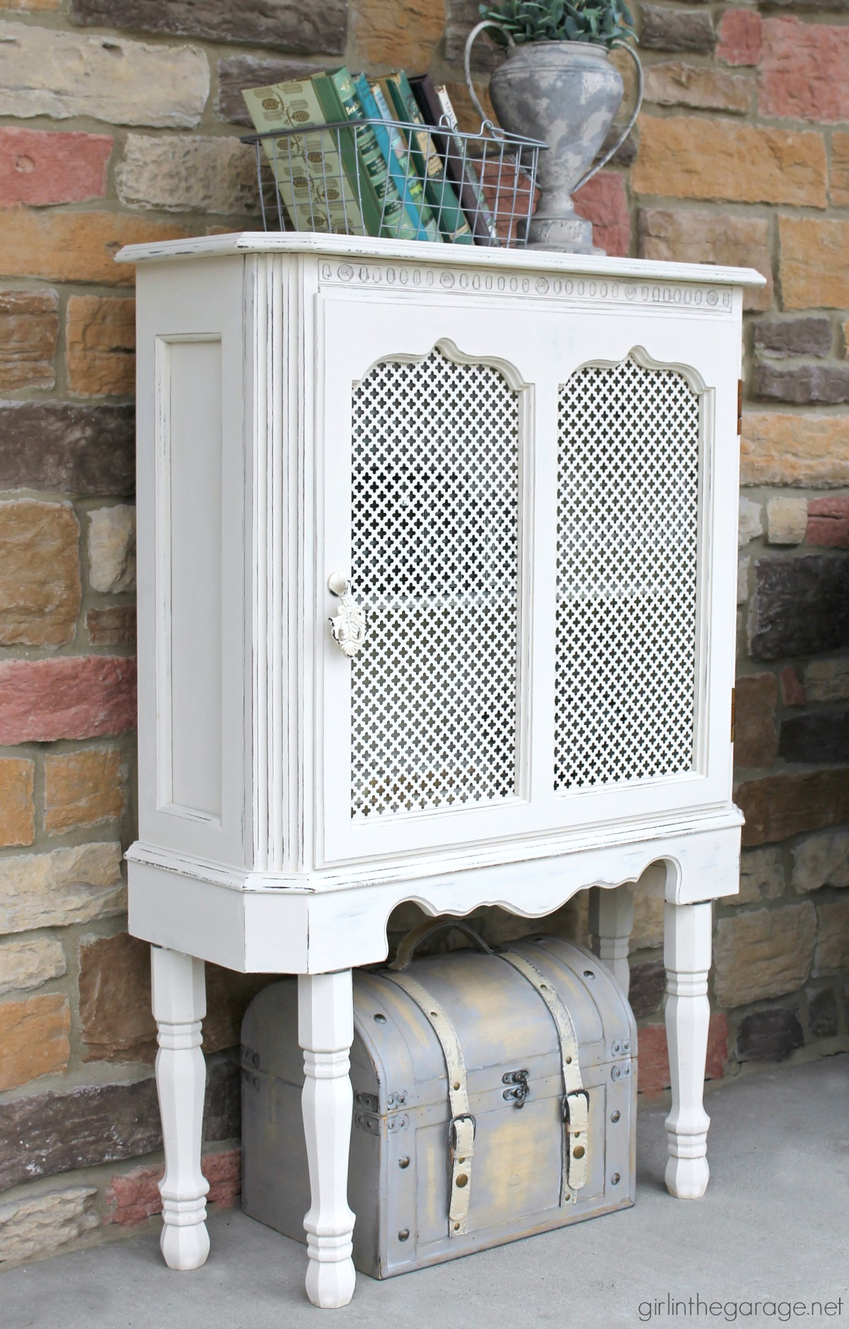 Upcycled Curio Cabinet Makeover Girl In The Garage 174