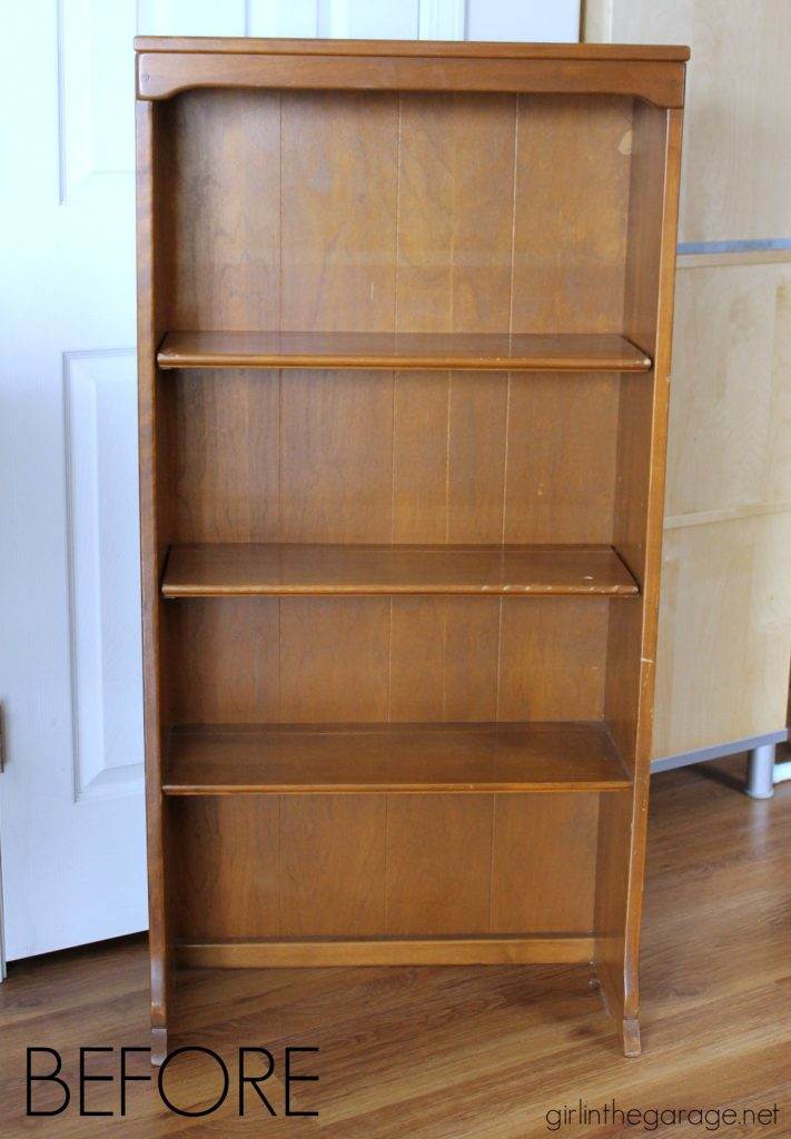Bookcase makeover - before