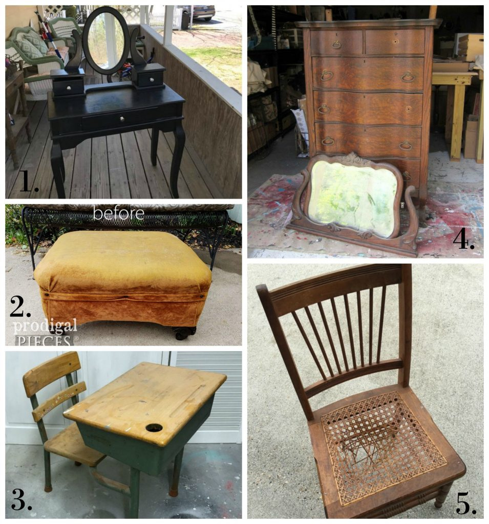 Furniture Fixer Uppers - May 2018