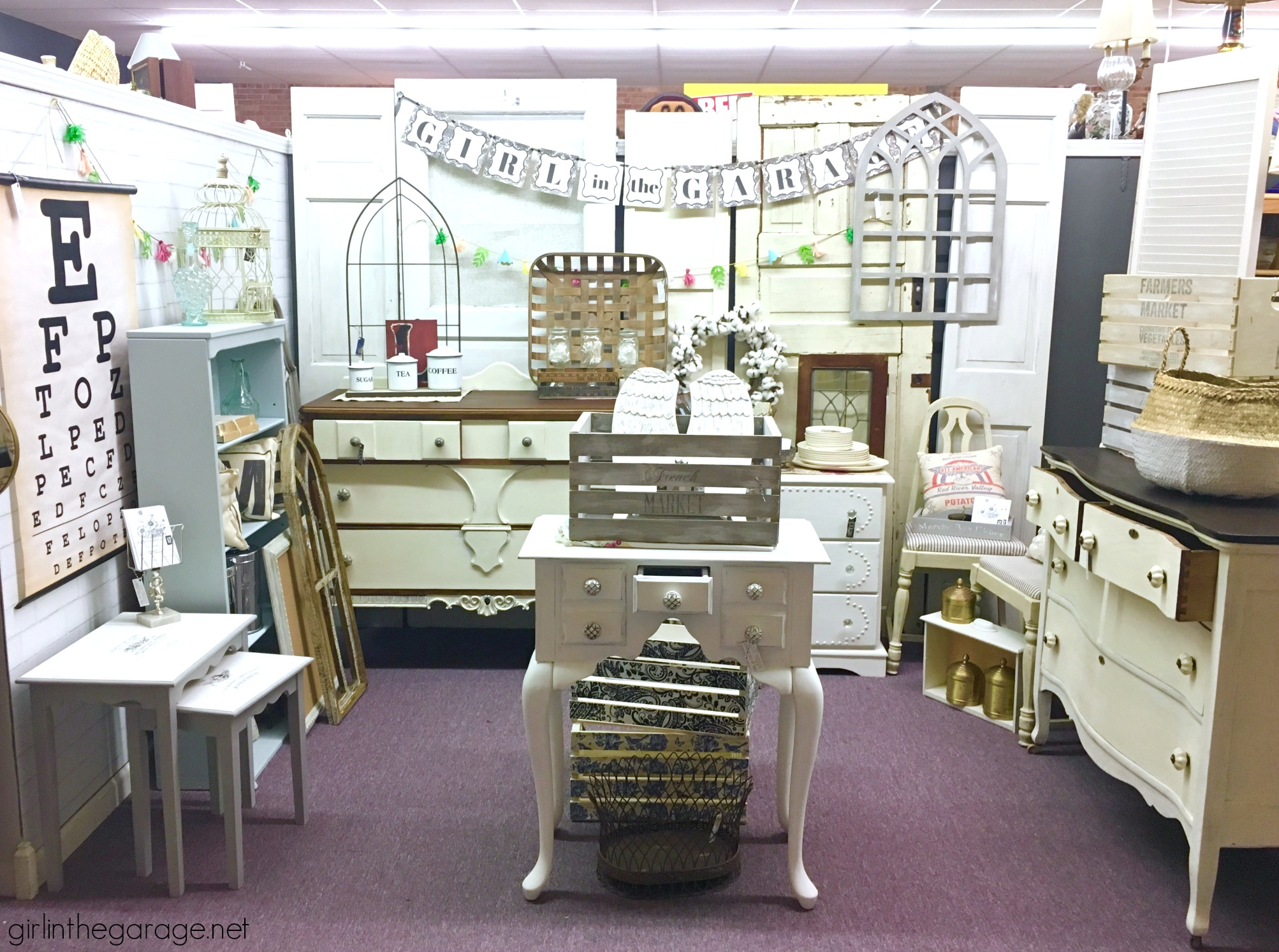 Mistakes I Made When Starting my Antique Booth (6 years ago) - Girl in the Garage