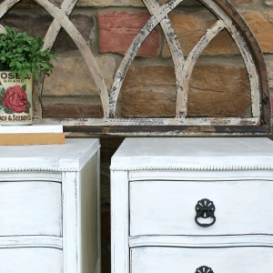 Updated Antique Nightstands