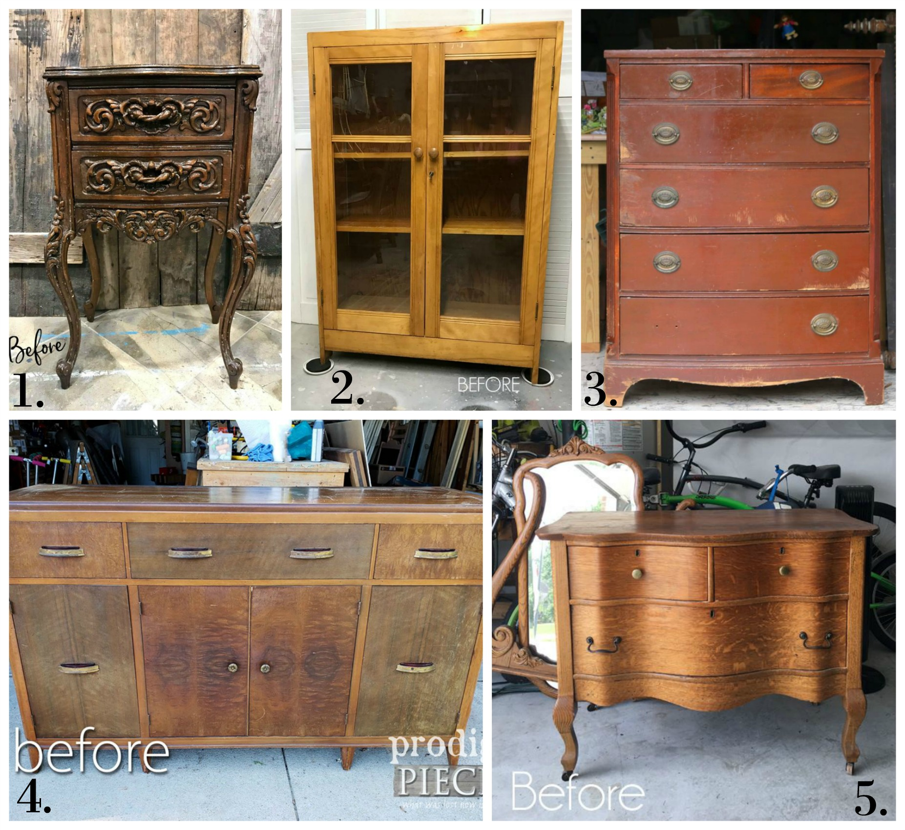 Furniture Fixer Uppers - June 2018