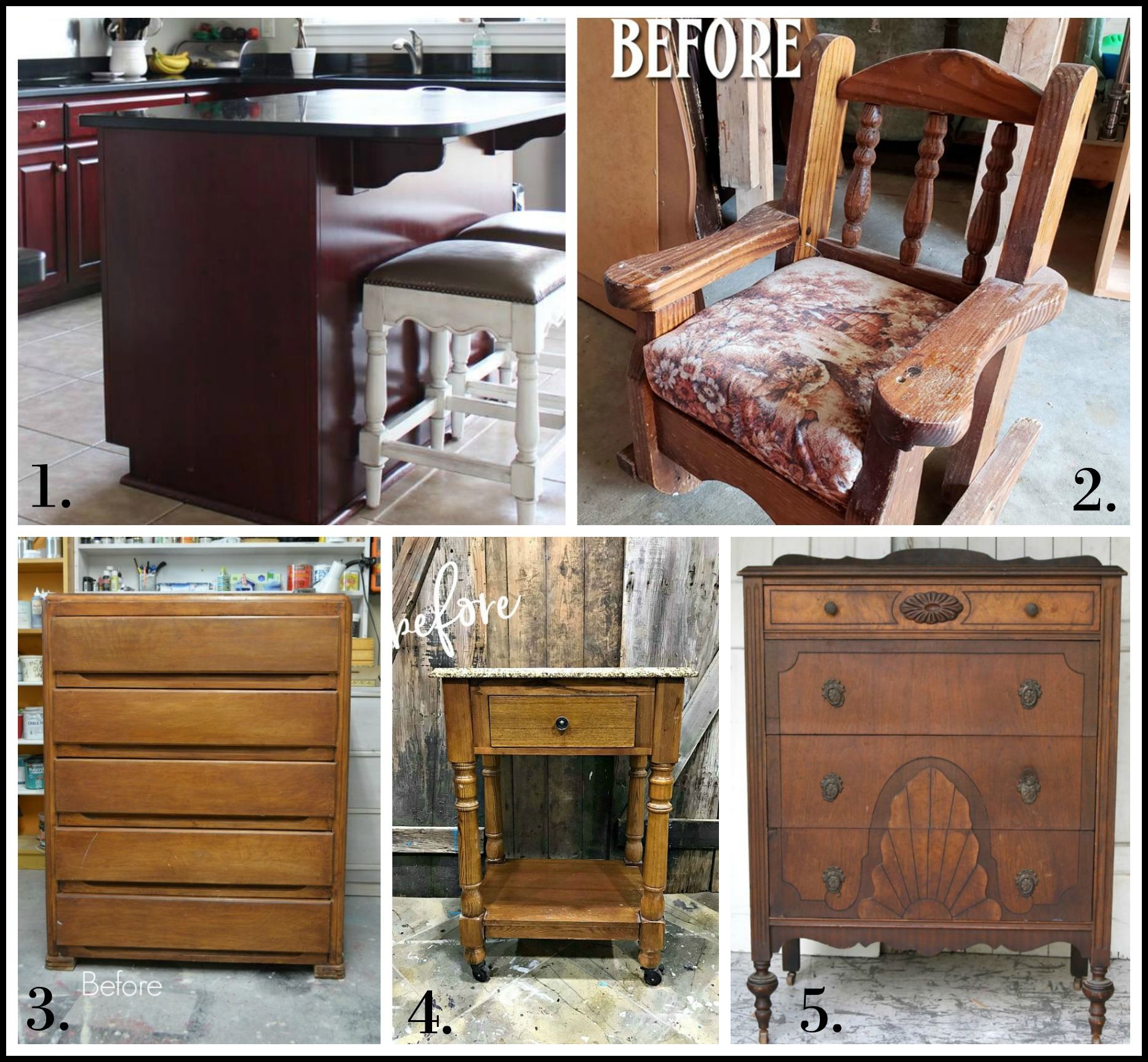 Furniture Fixer Uppers - July 2018