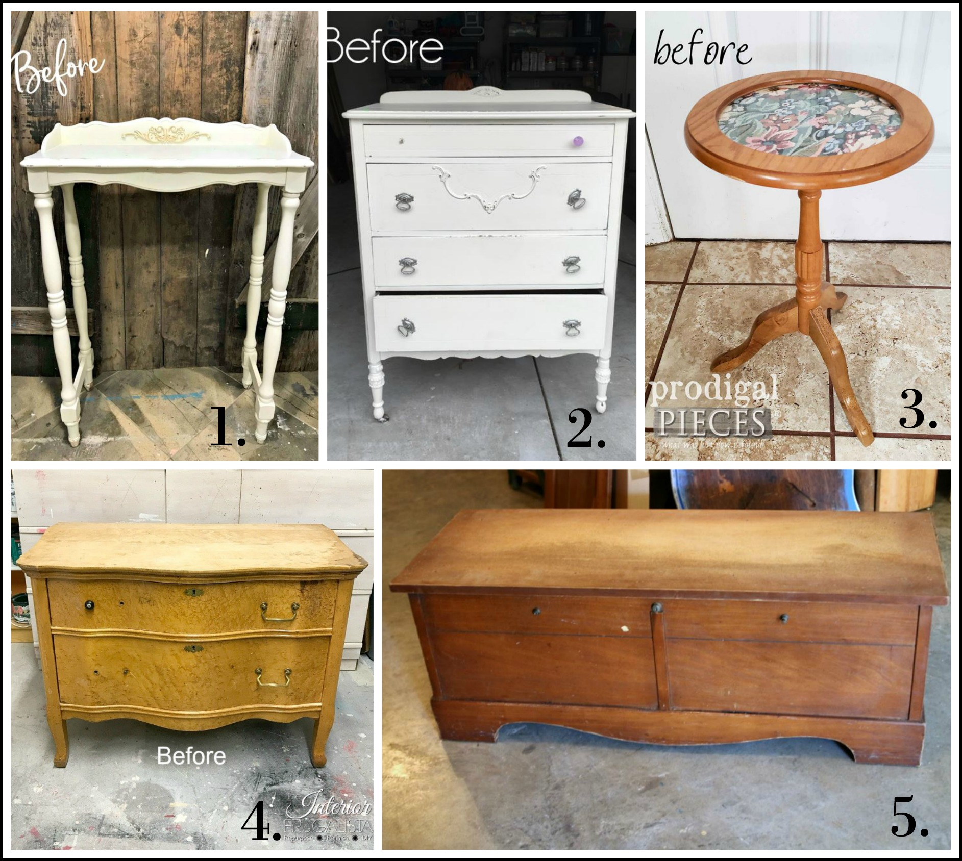 The Furniture Fixer Uppers - October 2018