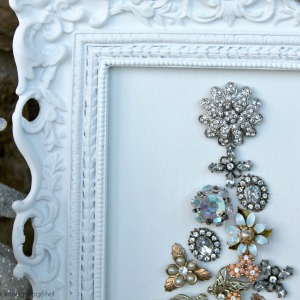 Vintage Earring Christmas Tree