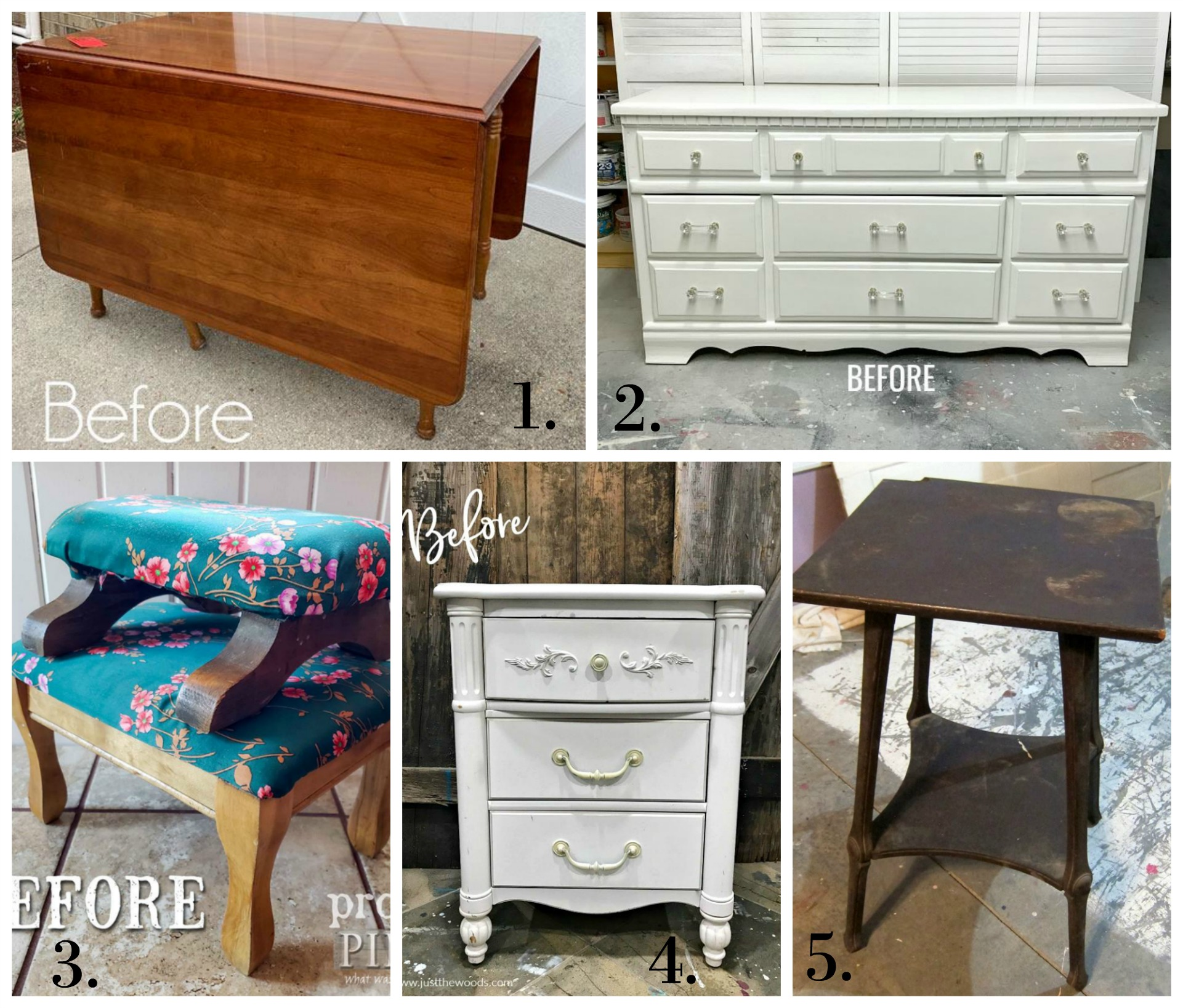 Furniture Fixer Uppers - Jan 2019