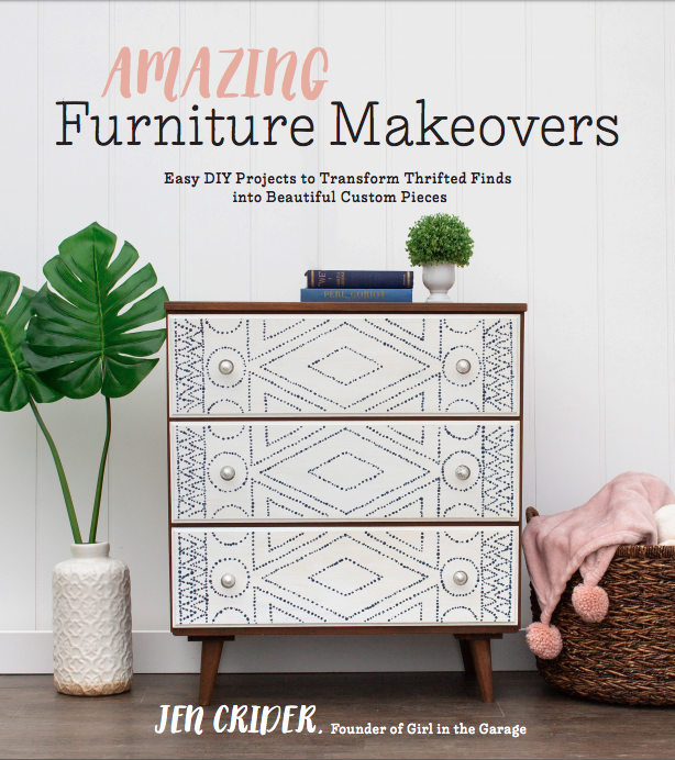 Amazing Furniture Makeovers - book by Girl in the Garage