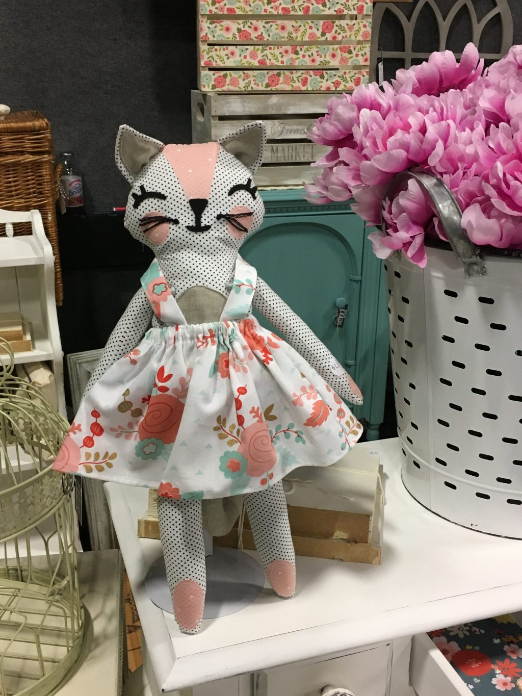 Thread and Cloth Studio handmade dolls - by Girl in the Garage