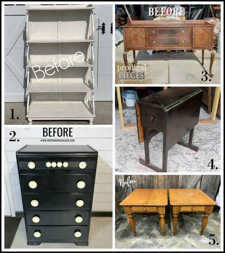 Furniture Fixer Uppers - March 2019