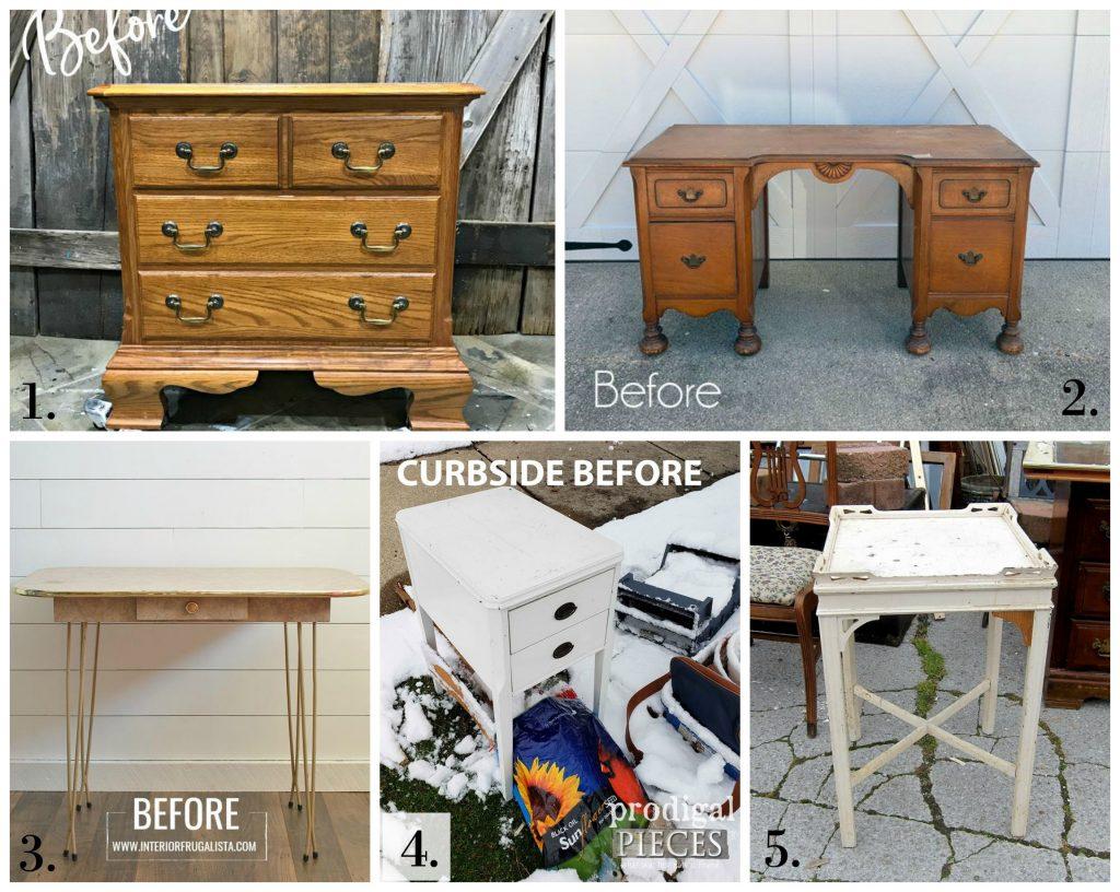Furniture Fixer Uppers - April 2019