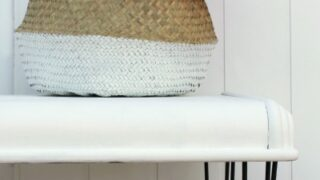 Repurposed Chest Lid to Modern Farmhouse Bench