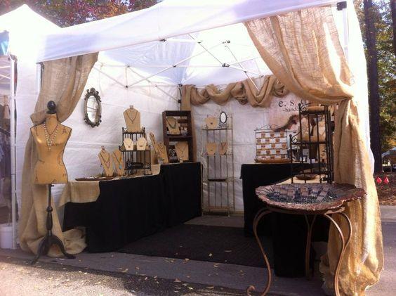 Elizabeth Seidel - Stone Crow Studios market display