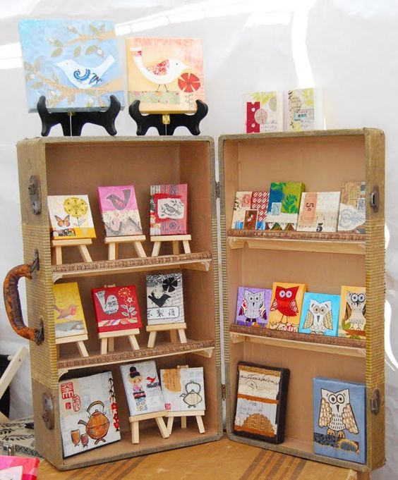 Craft show display via Two Hand Design