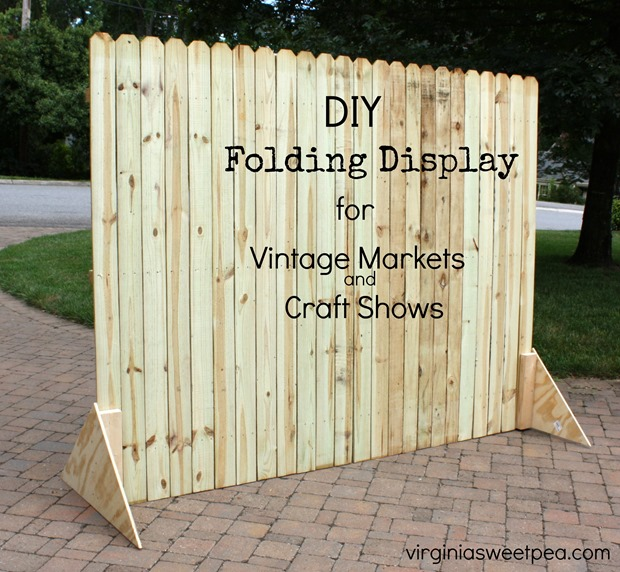 DIY Folding Display by Virginia Sweet Pea