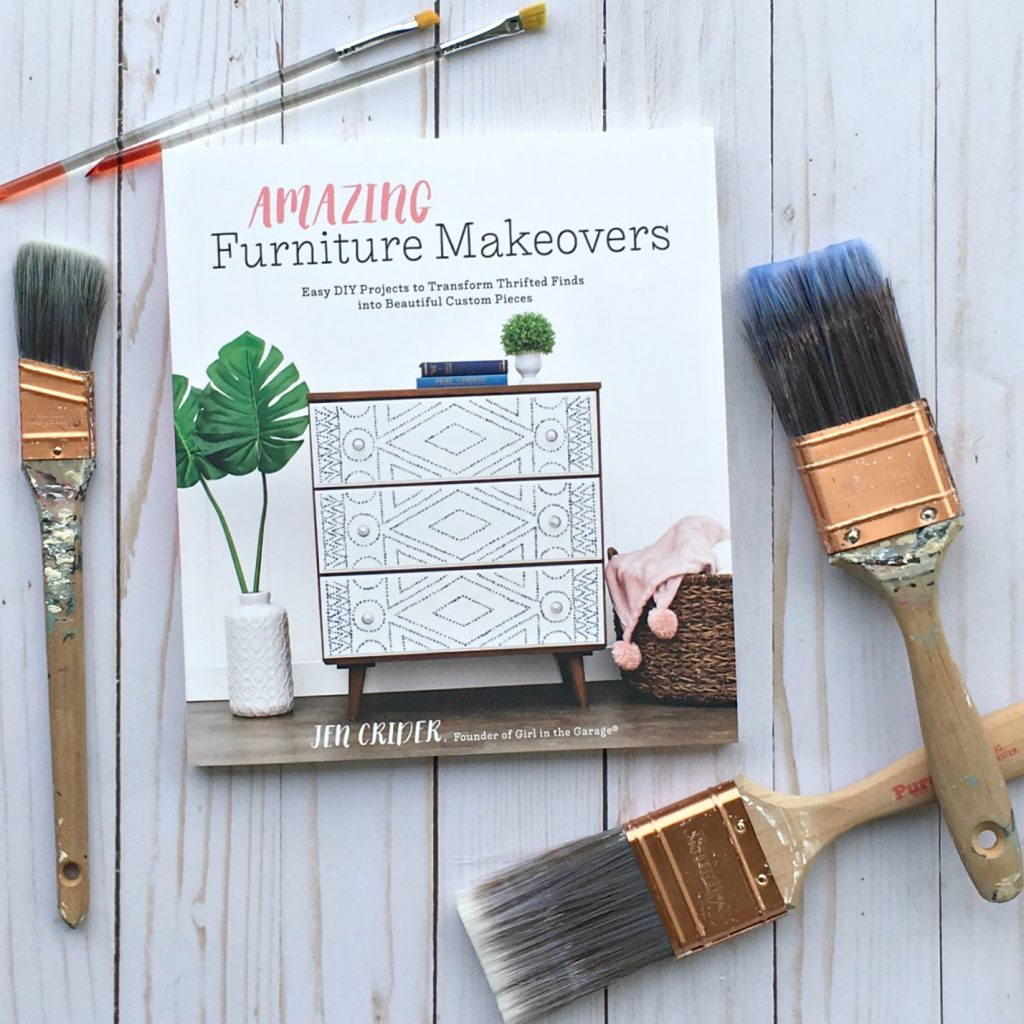 Amazing Furniture Makeovers book - DIY furniture makeover ideas by Girl in the Garage