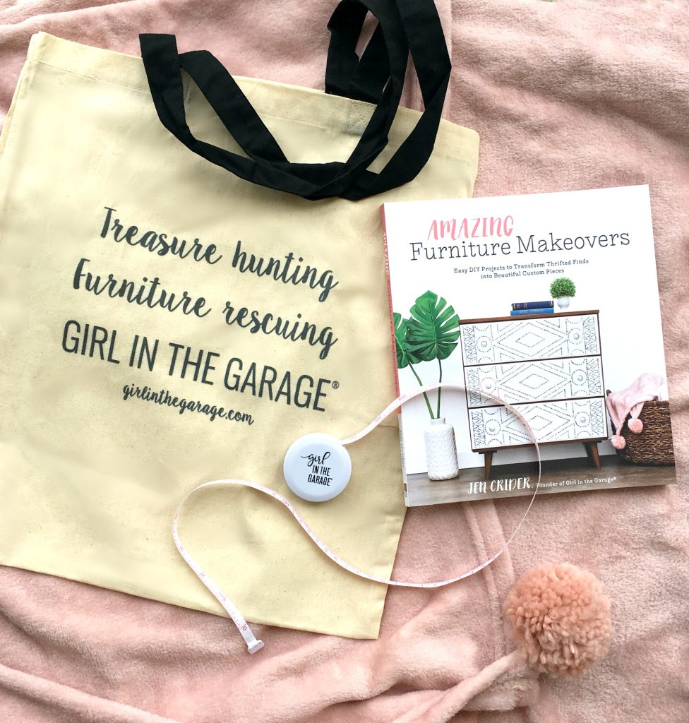 Amazing Furniture Makeovers book - Girl in the Garage swag