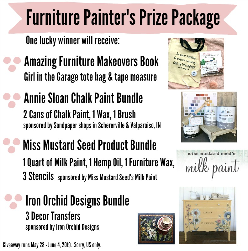 Furniture Painter's Prize Package - Girl in the Garage