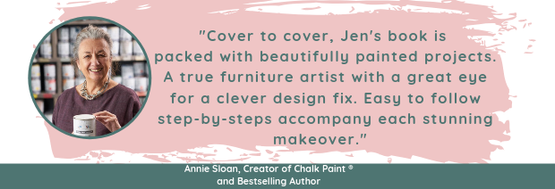 Annie Sloan review for Amazing Furniture Makeovers