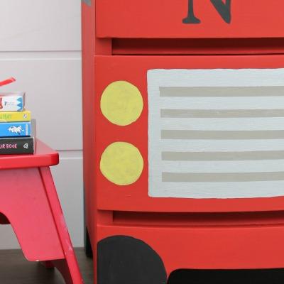 Fire Truck Dresser