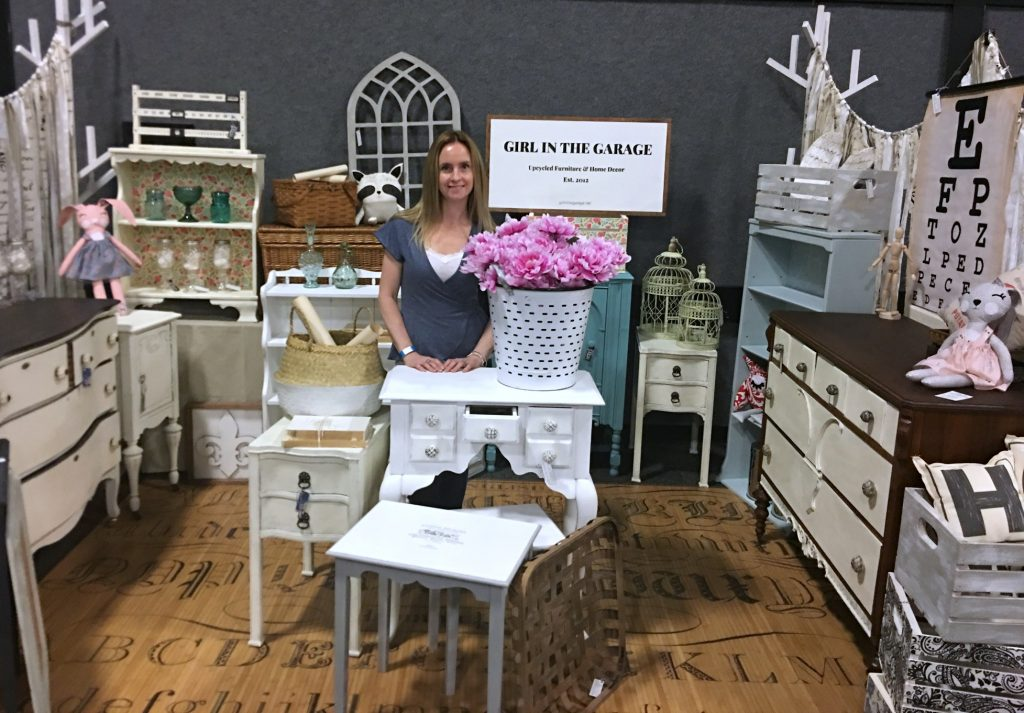 Vintage market booth display ideas - Girl in the Garage