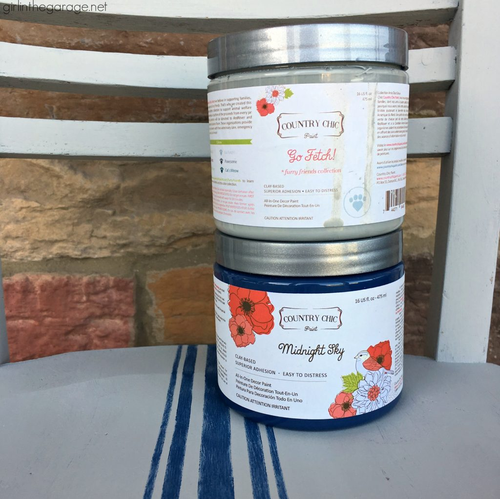 Country Chic Paint - Favorite DIY products by Girl in the Garage