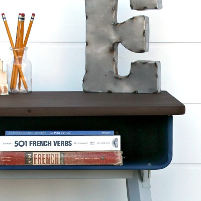 How to Paint a Metal Desk Makeover + Two Fails