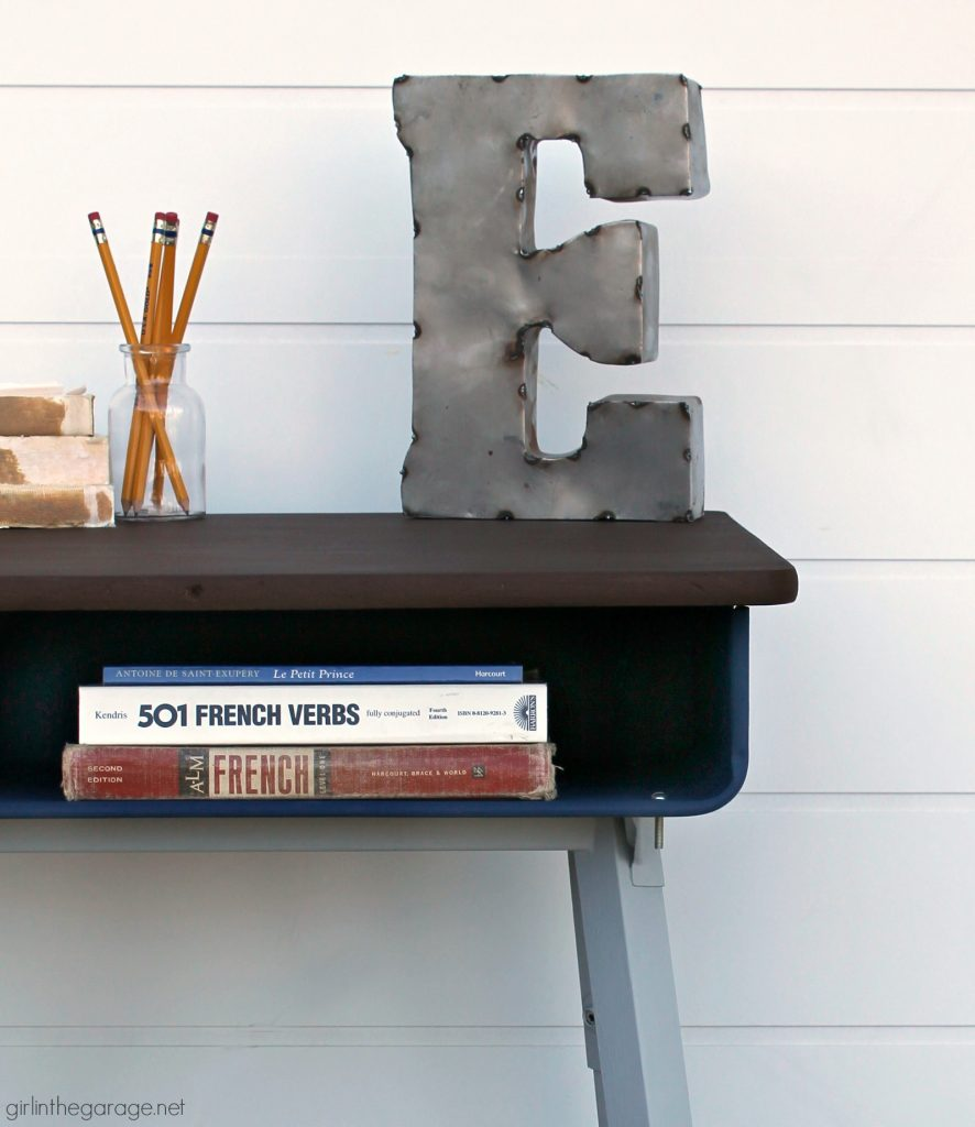 How To Paint A Metal Desk Makeover Two Fails In The Garage