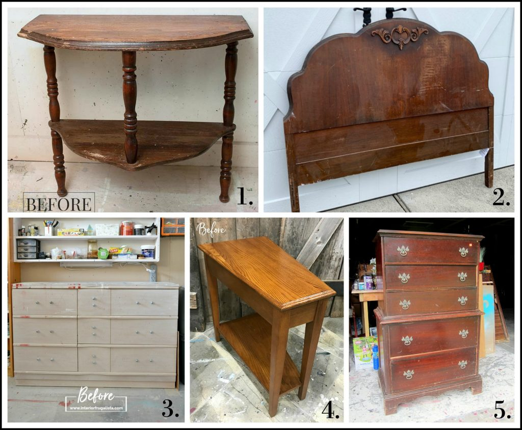 Furniture Fixer Uppers - July 2019