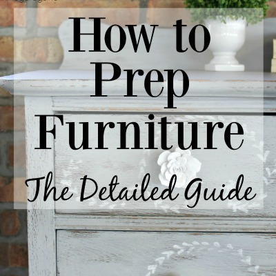 How to Prep Furniture for Painting: Detailed Guide