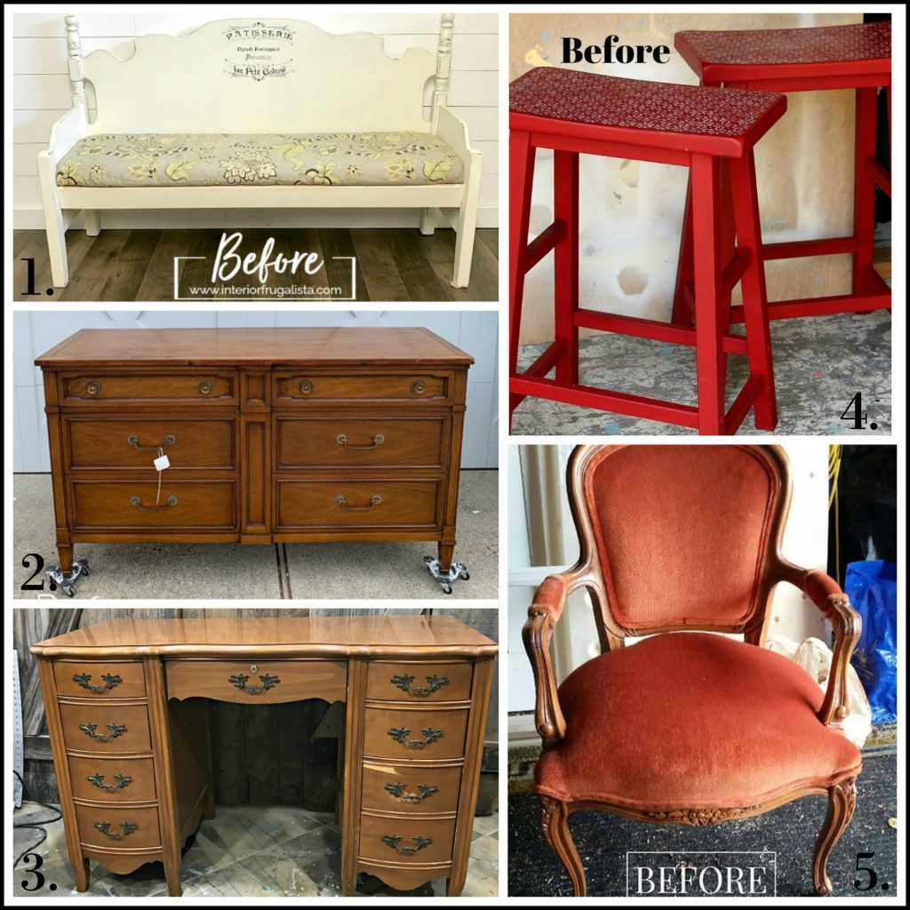 Furniture Fixer Uppers - Sept 2019