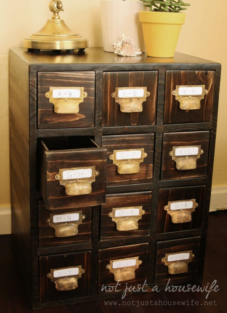 How To Build A Card Catalog - Stacy Risenmay