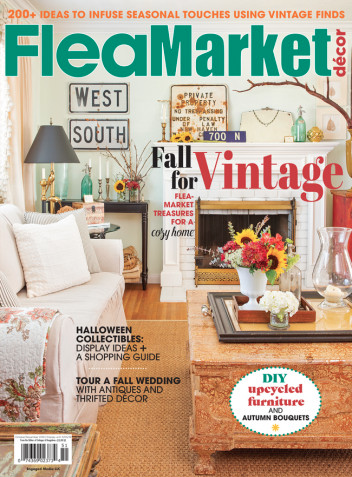 Flea Market Decor magazine feature