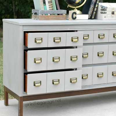 21 Amazing DIY Card Catalogs and Industrial Storage Makeovers