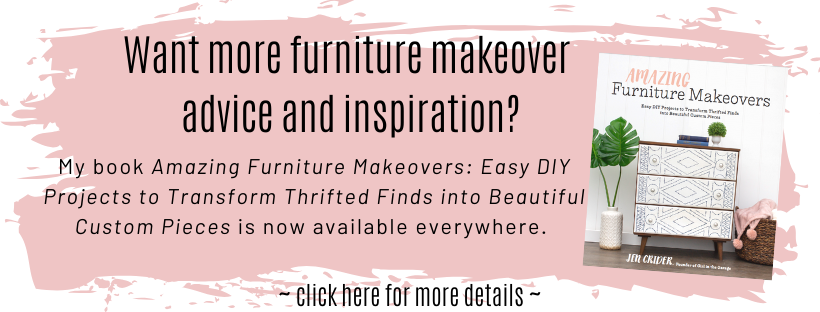 Amazing Furniture Makeovers - DIY book by Girl in the Garage