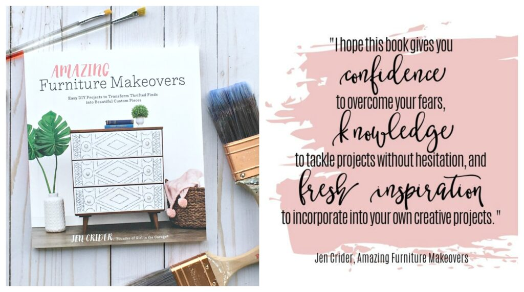 Amazing Furniture Makeovers book by Jen Crider, Girl in the Garage