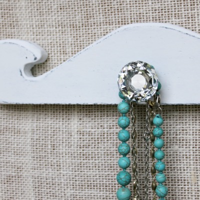 Vintage DIY Necklace Display