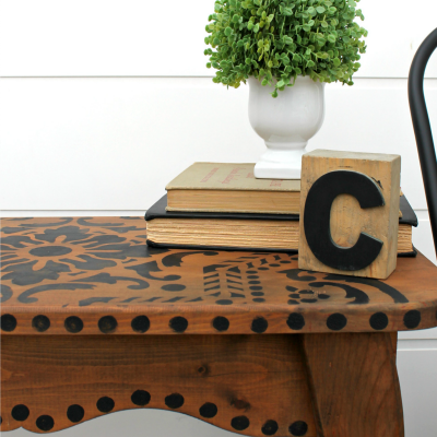 How to Stain Wood Black with Furniture Wax