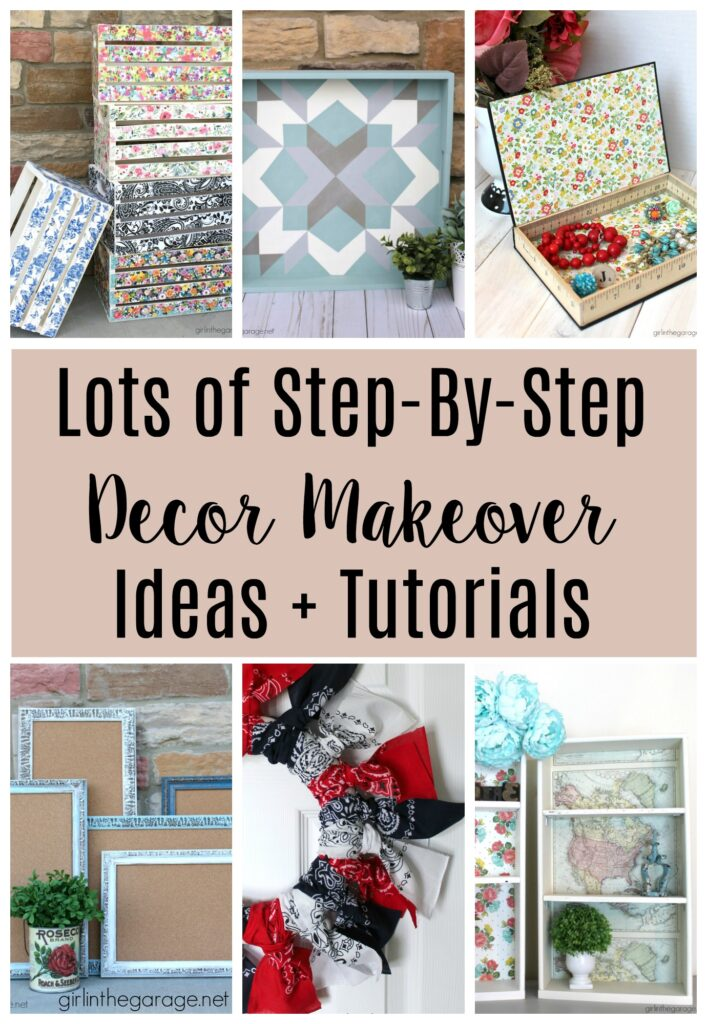 DIY home decor makeover ideas by Girl in the Garage