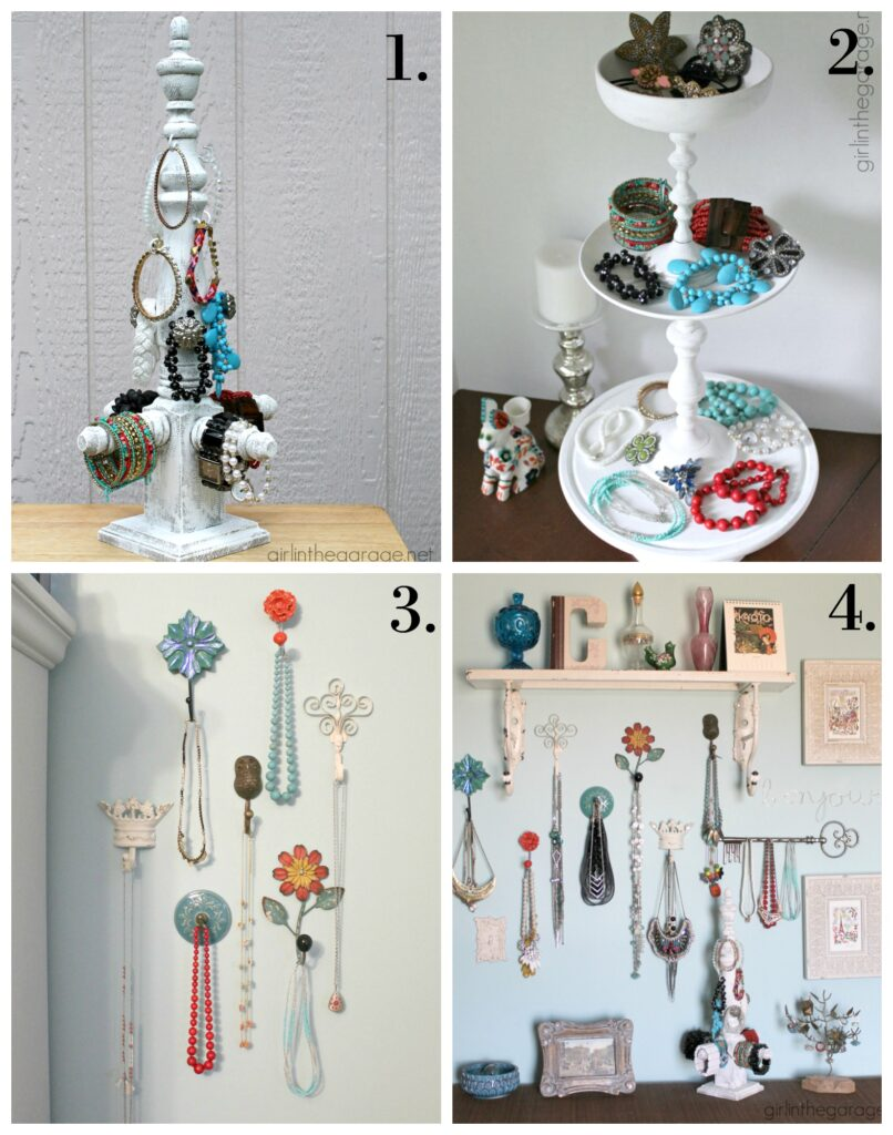 DIY Jewelry Display Ideas - Girl in the Garage