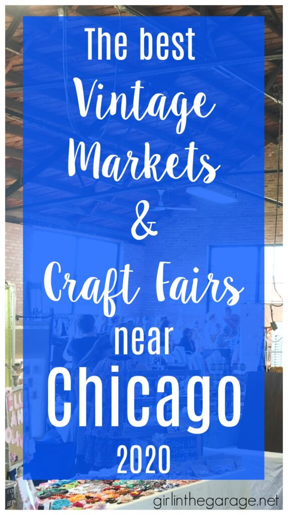 Searching for a fun shopping trip or a new place to sell your goods? Save this list of the best vintage markets and craft fairs near Chicago and Northwest Indiana. Compiled by Girl in the Garage