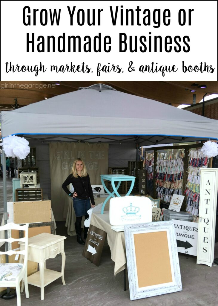 Learn how to grow your vintage or handmade business with advice from Girl in the Garage