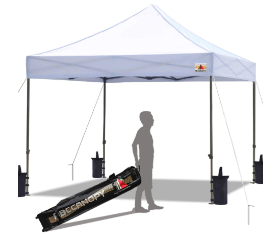 Discover the best highly-rated 10x10 canopy tents, tent weights, and other gear to help make your outdoor market booth a success. By Girl in the Garage