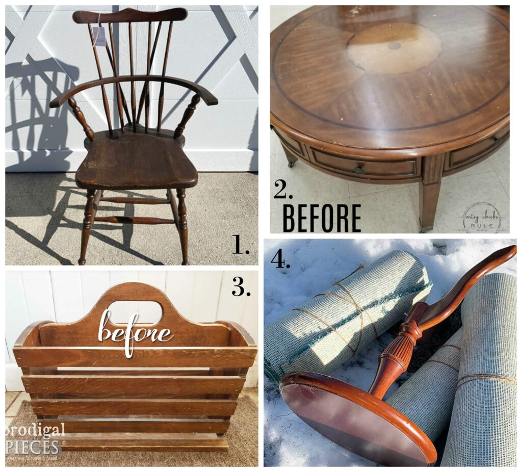 Trash to Treasure Makeovers - Feb20